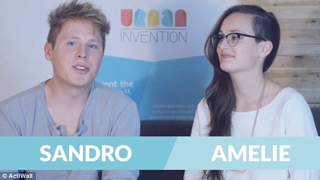 German students Sandro and Amelie founded a company to make the product a reality