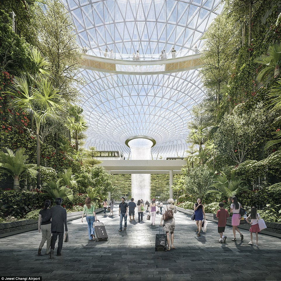 The ambitious project has a big focus on nature with an aim of boosting Singapore's appeal as a stopover point for travellers