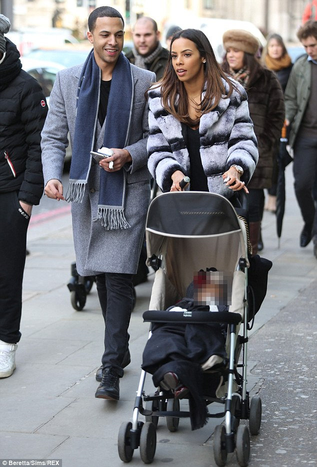 Rochelle Humes And Wife Michelle Coordinate With Daughter