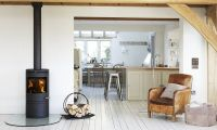 Put a wood-burning stove into your fireplace and it could ...