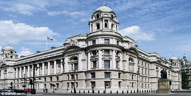 War Office building where Churchill helped mastermind the Allied victory over Hitler to be