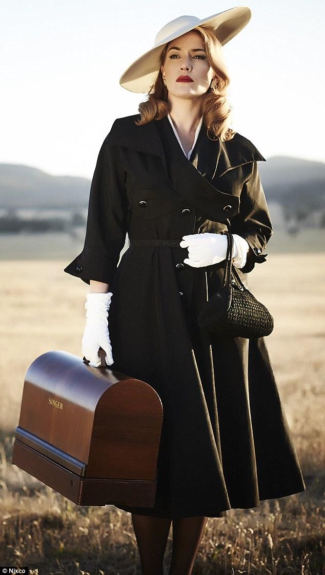 Filming Finishes On Kate Winslet's Film The Dressmaker