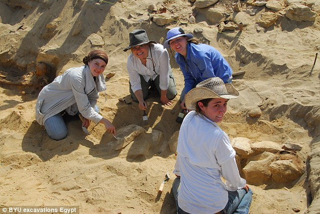 Researchers conduct annual excavations at the site but believe there could be a million bodies buried there