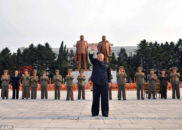 Kim Jong-Un is a fan of cyber warfare and has been pictured visiting universities likeKim Il Sung University