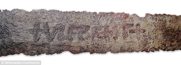a single word - 'Ulfberht' - on the blade of a Viking sword. Experts believe a German monastry may have been responsible for the product of the superstrong weapons.