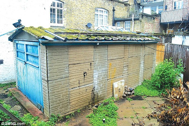 Tiny Lock Up Workshop In Kensington Goes On Sale For