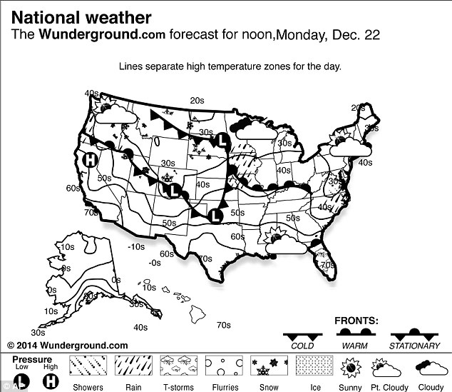 Christmas Storm bringing rain and snow looms over East