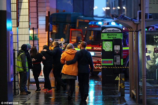 Witnesses told of their shock at the scene where a number of people lost their lives yesterday lunchtime