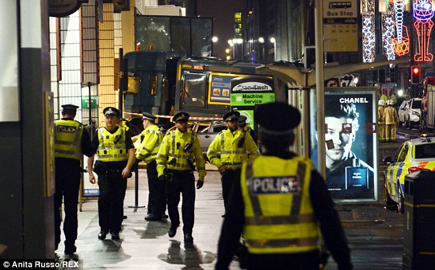 All roads in the surrounding area were immediately sealed off and people were told to stay away from George Square, and to let their families know they were safe