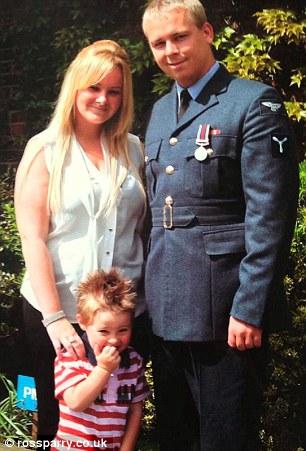 Emma Gilhespy with Michael and Callum
