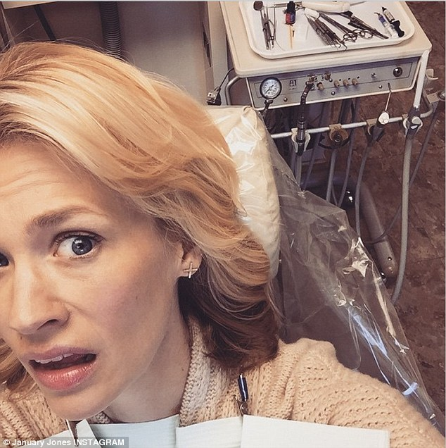 gym chair as seen on tv cool office chairs contemporary urban home ideas january jones looks worried at the dentist to fix filling swivel exercise