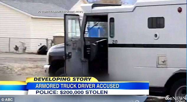 Police charge missing truck driver with theft and arrest his father  Daily Mail Online