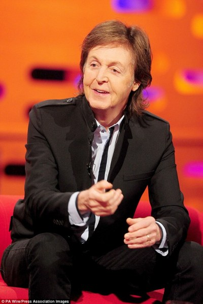paul mccartney Paul McCartney got just a tangerine and nuts as child for