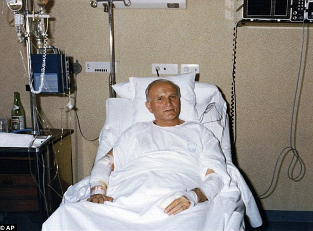 Following a five-hour operation, John Paul II went on to make a full recovery and forgave his would-be murderer