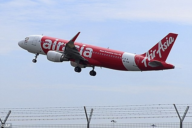 A Chinese blogger has provoked a storm of speculation online over claims he predicted the disappearance of an AirAsia flight two weeks before one of its Airbus A320s (like the one above) vanished yesterday