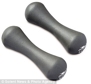 The Aldi Specialbuys Yoga range, which also includes Kettlebells (from £6.99), Dumbbells (£6.49) will be in store on January 2