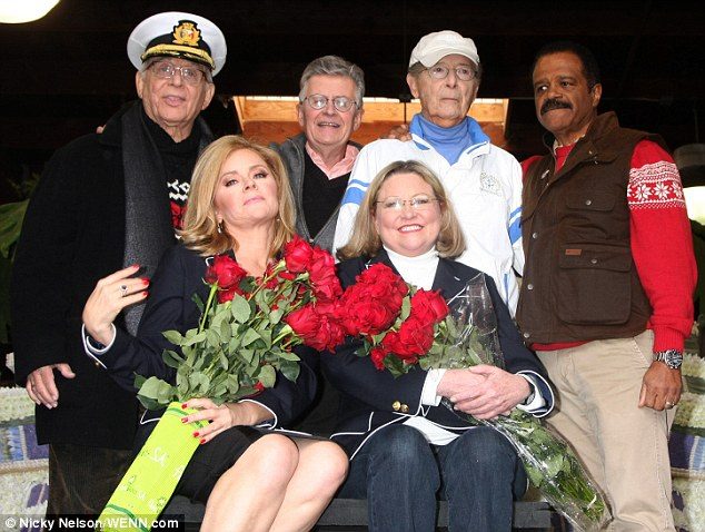 The Love Boat cast reunites to decorate cruise ship float