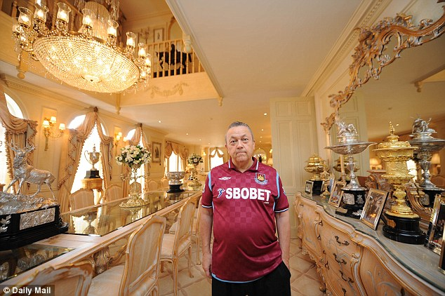 David Sullivan, pictured, will buy the Grade-II listed Georgian mansion owned by 'Lord' Edward Davenport