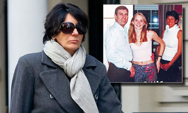 Ghislaine Maxwell accused of facilitating Prince Andrews