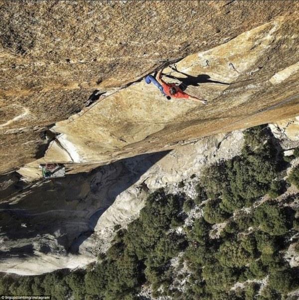 Reach Summit of El Capitan Yosemite Climbers