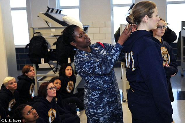 Navy To Stop Cutting The Hair Of Female Recruits Short