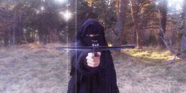 'Armed and dangerous':It is becoming clear that the one-time cashier was radicalised after meeting the man she would marry