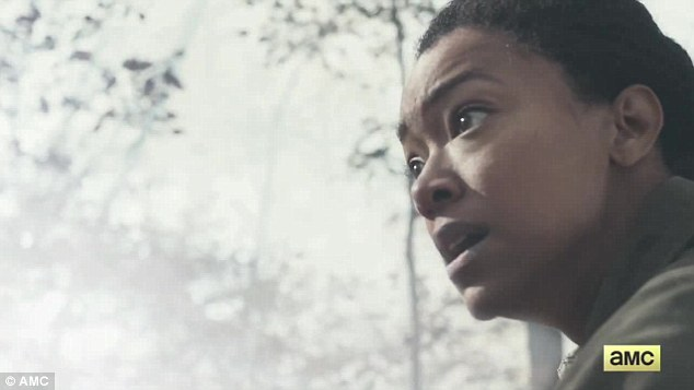 Paranoia or panic? His sister Sasha (Sonequa Martin-Green) carefully listened for any disruptions in the eerie stillness