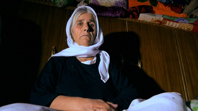 A mother's nightmare: Hamshe's mother told the BBC that 'the Yazidi community has been destroyed. This tragedy has done us enough damage for the rest of our lives.'