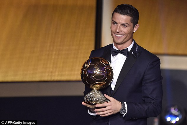 Ronaldo beat Messi to the award as he was crowned the 2014 Ballon d'Or winner after a stellar 12 months
