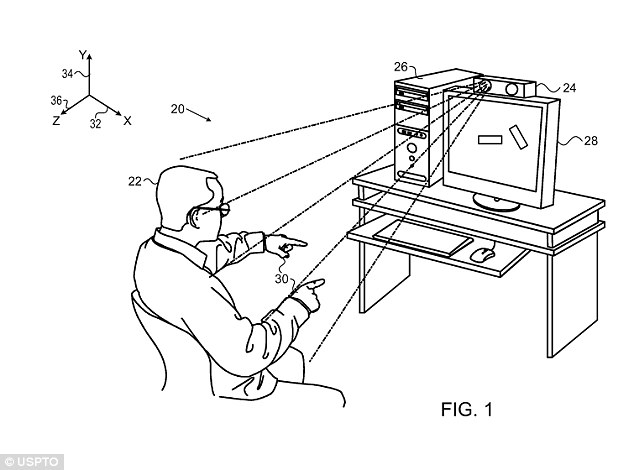 Wave to your TV! Apple patents 'Minority Report' gesture