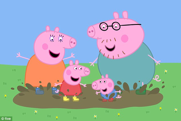 Authors following the Oxford guidelines would not be able to mention characters from Peppa Pig (pictured)
