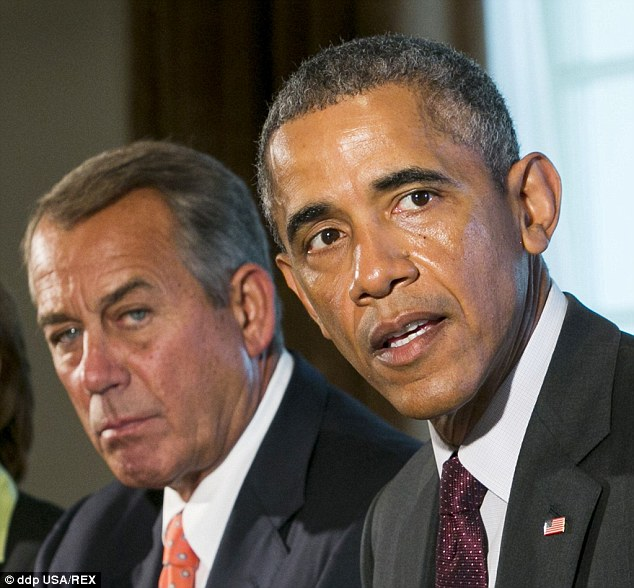 NO COMPROMISE: Boehner didn't buy what the president was selling on Tuesday during a high-stakes White House meeting with all of Congress's top leaders