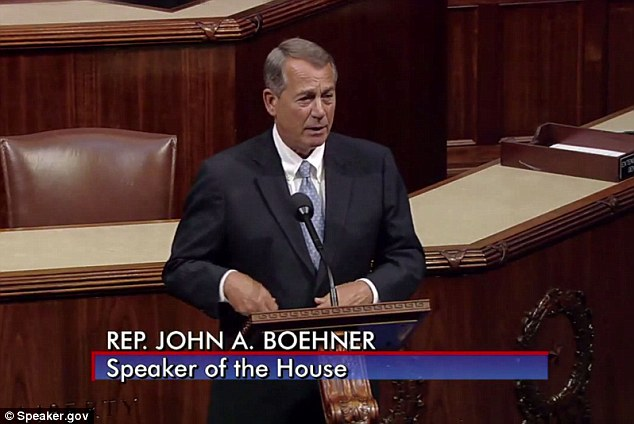 IN YOUR FACE: Boehner took Obama to the woodshed on Wednesday over immigration, reading aloud nearly two dozen Obama quotations that indicate the White House can't act unilaterally
