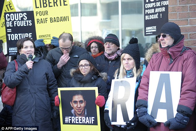 Meanwhile in Saudi Arabia, blogger Raef Badawi is going to publicly flogged for suggesting reforms to Islam. In September, a Saudi court upheld a sentence of 10 years in prison and 1,000 lashes for Badawi, and he is expected to have 20 weekly whipping sessions until his punishment is complete