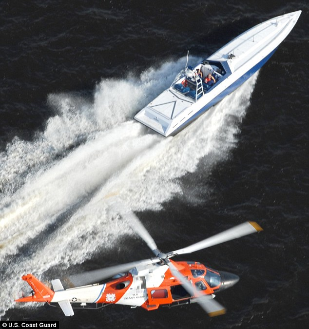 Drug Cartels Using New Go Fast Boats That Are Almost