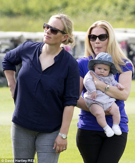 Happy Birthday Mia As Zara Phillips Daughter Turns One