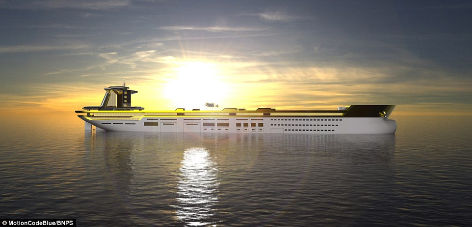 Welcome Aboard The Gold Superyacht The Size Of An OIL