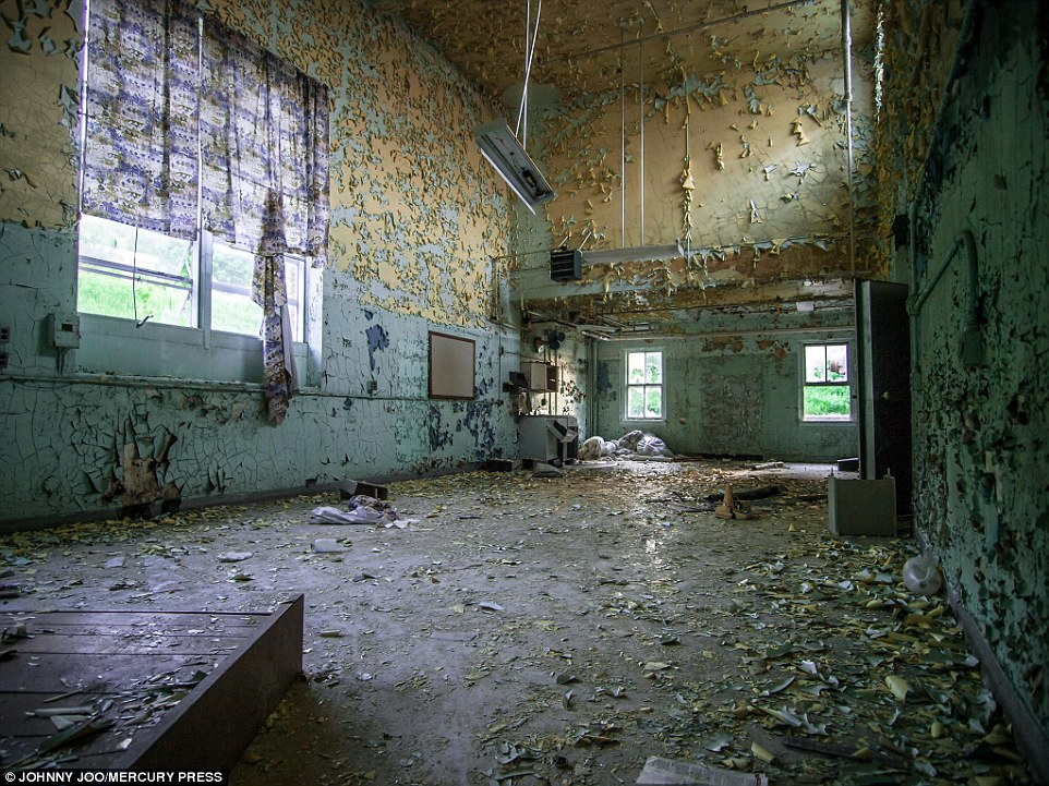 Broken baths deserted dining halls and abandoned wheelchairs Inside New Yorks abandoned