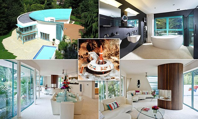 Sandbanks futuristic house inspired by Thunderbirds Tracy Island home sells for 19million