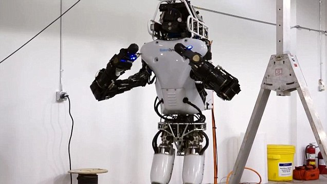 The Googlebot Atlas robot overhauled to win 2m Robot Olympics  Daily Mail Online