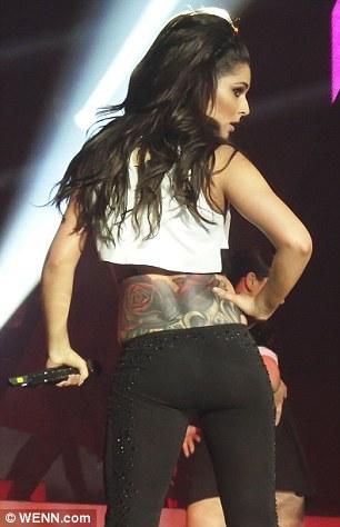 Cheryl FernandezVersinis rose tattoo is voted the worst