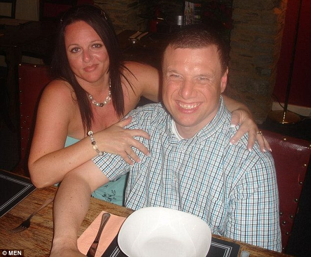 Simon Thomas, pictured with his sister Paula, 41,  had been visiting the attraction on a weekly basis for seven monthswhen he was told he was no longer welcome