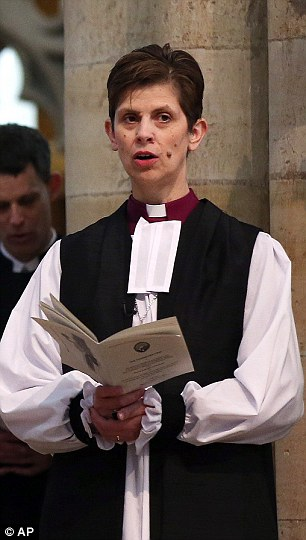 First: Rev Libby Lane today became a bishop in the Church of England, overturning five centuries of tradition