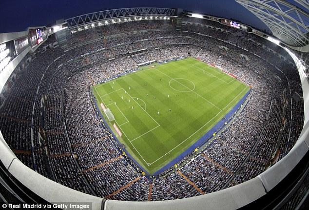 Real Madrid set to rename stadium Abu Dhabi Bernabeu as ...