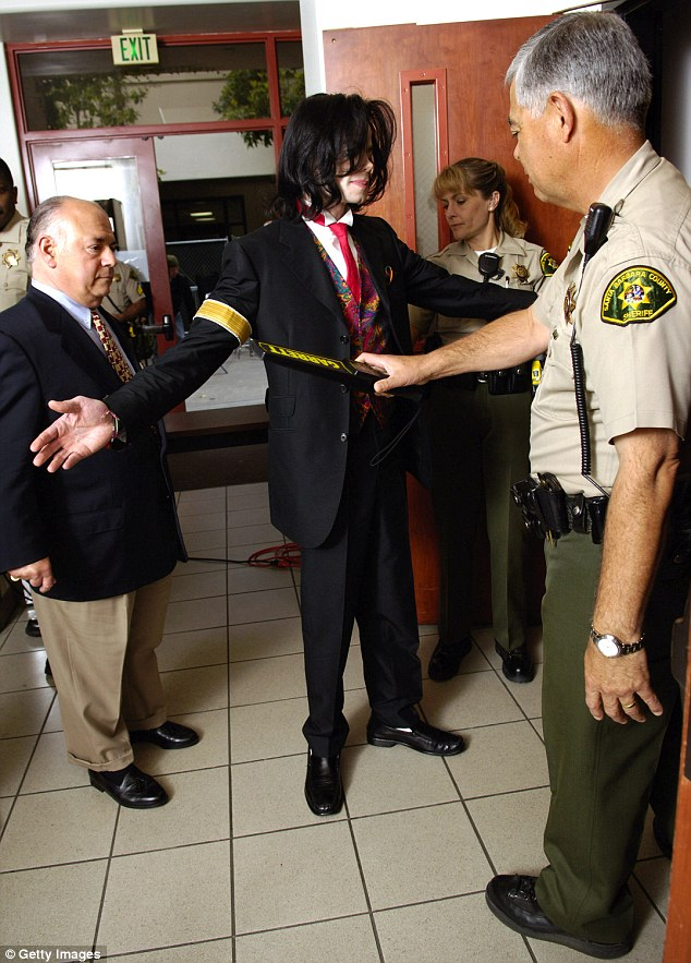 Not guilty: The pop star was cleared by a jury at Santa Maria court house on all ten counts