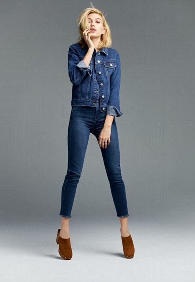 You go, girl! Hailey Baldwin has just been announced as the face of Topshop's SS15 denim collection