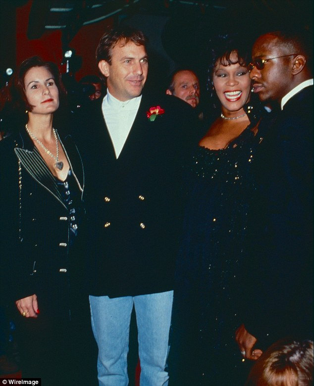 Whitney Houstons Bodyguard Co Star Kevin Costner Breaks