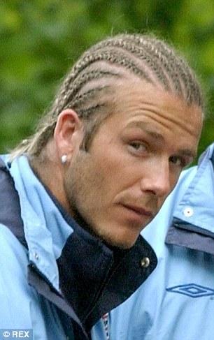 David Beckhams ten worst fashion fails  Daily Mail Online