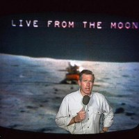 Brian Williams On the Moon