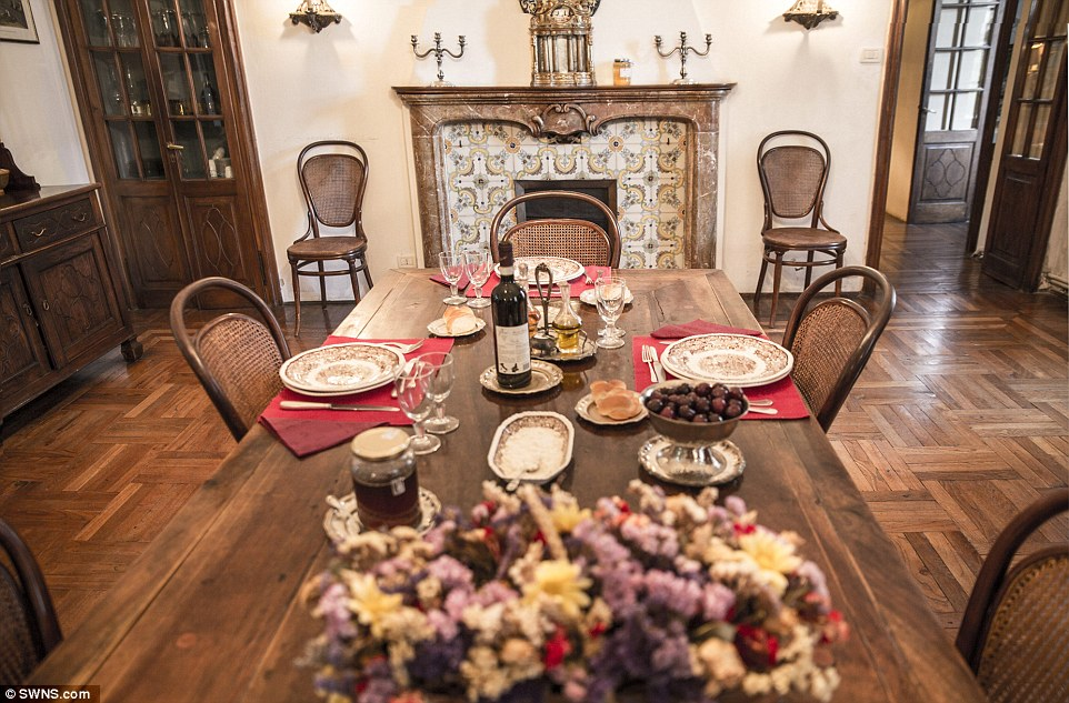 Fine dining:Some 215 years ago, the French emperor Napoloeon used Villa La Voglina as his headquarters for the Battle of Marengo